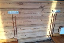 Log home sockets