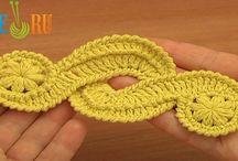 Crochet flowwers