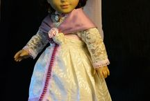 Historical dolls costumes