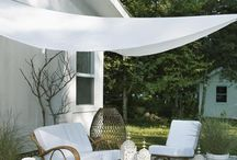 Nautical Outdoor Spaces / Outdoor nautical decor inspirations. Back yard decorations for the nautically inclined. / by Nantucket Brand Clothing Co