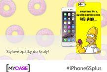 iPhone 6S Plus / Nech se inspirovat originálními kryty na iPhone 6S Plus!  Začni tvořit na www.mycase.cz