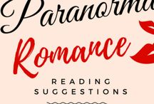 Weekly Paranormal Romance Suggestions