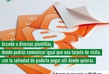 Tarjetas #personalizadas