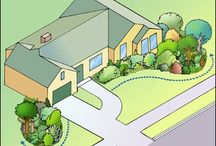 Front garden plan / Lay out