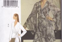 Sewing Patterns for Women / Sewing Patterns from 1960s onwards