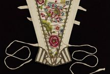 Embroidered stomachers