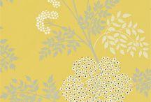 YELLOW - ORANGE Patterns & Prints