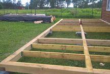 Строим каркасный дом  / Строительство каркасного дома своими руками.