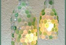 glass pebbles lamps