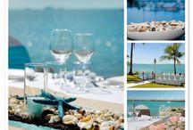 Life's a Beach! Beach Themed Wedding Ideas / Beach Wedding