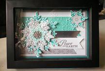 Framed art paper craft