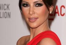 Maquillaje de vestido rojo