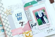 Scrapbooking meets Travelers Notebook