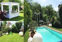 Garden Party / Piscine, soleil, apéritif en terrasse : profitez des beaux jours pour faire votre événement en extérieur.