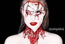 Halloween carved mask
