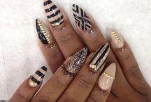 Make up, nails
