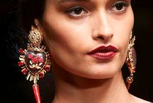 Haute Couture Accessories / Dolce & Gabbana, Valentino, Cavalli style inspired jewellery and accessories - includings also shoes, bags and detailed finishes of outfits. Focus on details.
