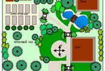 сад планирование