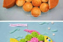fish shaped cakes