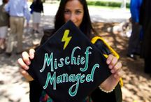 Graduation Cap Ideas / by Cassie Boring