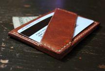 JM: leather wallets