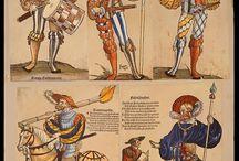 Landsknechten 1480 - 1530 - Sources / Dress and armour of the German Landsknechten around 1500