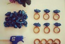 Anéis de guardanapo / Anéis elaborados pela Dias D Festas