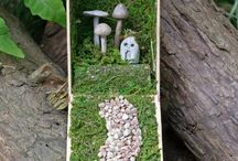 fairy gardens with Emily / by Jennifer Palomino