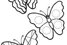 Łąka ( motyle,owady,biedronki) / by Karolina Czerwińska