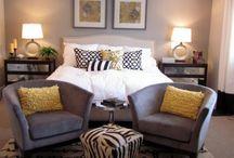 Bedroom ideas / by Rikki Gordon