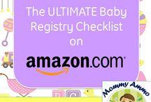 BABY REGISTRY ESSENTIALS / Baby Registry Essentials, Shopping Checklist Mommy Ammo