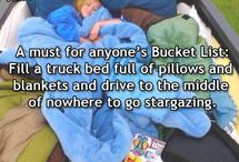 Bucket list and quotes