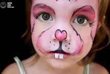 pintura d rosto