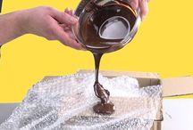 Schokoladenverzierungen