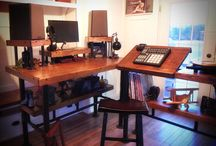 Desks / Tables / From drafting tables to computer desks, 1700's to hyper modern or industrial. All desks are welcome