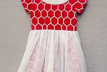 Little Girl's Party Clothes