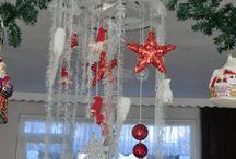 kerst zelf gemaakt / zelf gemaakte kerst decoratie