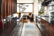 Sonoma Chic Kitchens / These inspirations were pinned as research for a remodel project in Cherry Creek, 2015.
