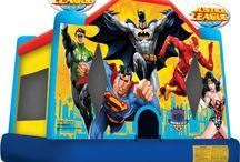 Super Hero Kids Parties