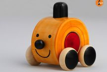 Lac-painted Wooden Toys / HANDCRAFTED BEAUTIFUL TOYS