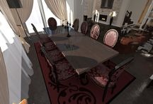 Living Room Design - Valentina Badeanu