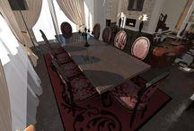 Living Room Design - Valentina Badeanu