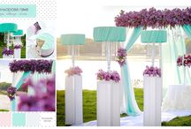 Wedding ● Ceremony Decorations lilac & white. DimFik / Wedding ● Ceremony Decorations lilac & white DimFik