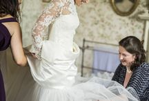 Wedding Dresses in Action