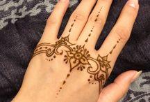 Henna / Short term tattoos