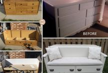 new chest of drawers ideas / by Lori McAlpin