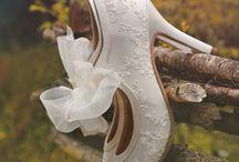 Svatební obuv / Wedding Shoes / Beautiful wedding shoes.