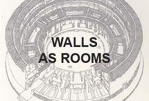 Walls as rooms