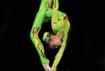 Acrobatics..Ballet....movement. / body beautiful