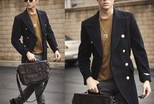 Clothes Make the Man Awesome / My heart beats like a drum for men's high street fashion.